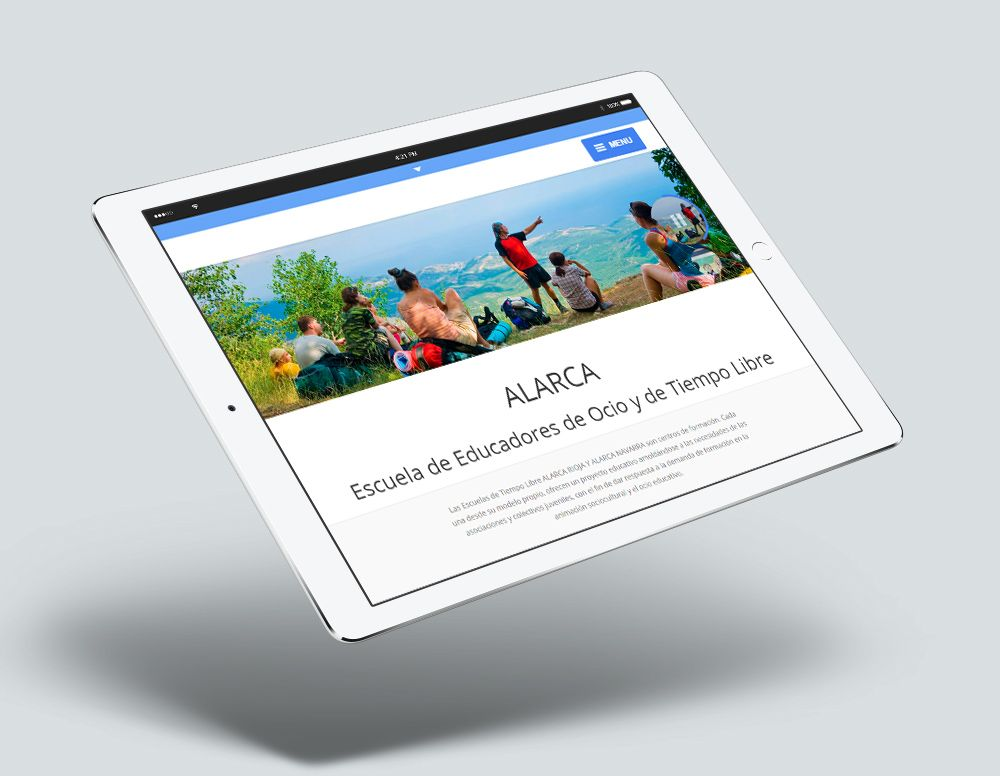 Web Responsive Alarca