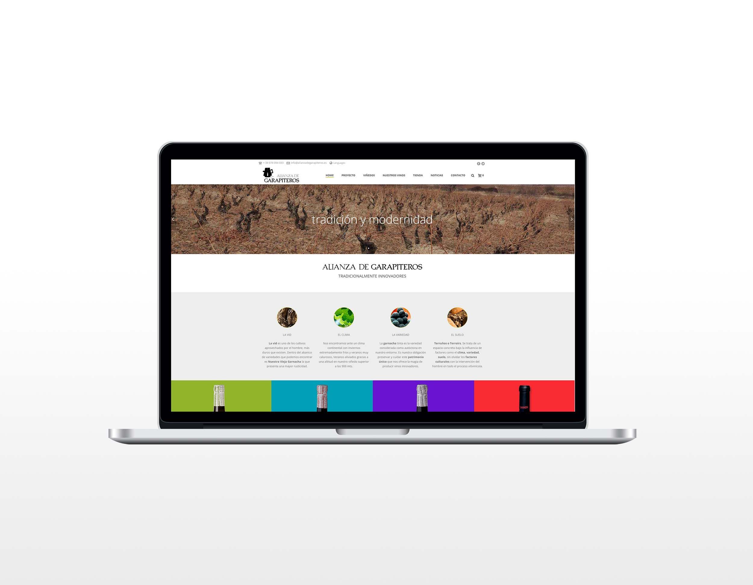 Web Alianza de Garapiteros