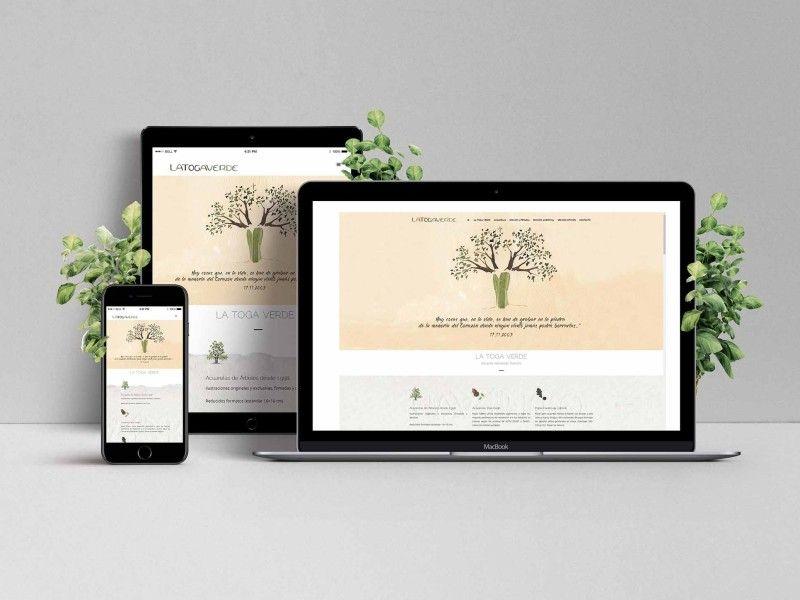 Diseño Web La Toga Verde